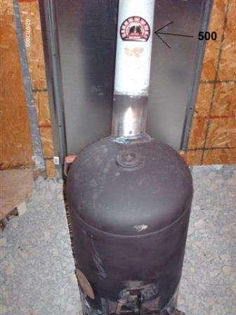 Печки на отработке из газовых баллонов своими