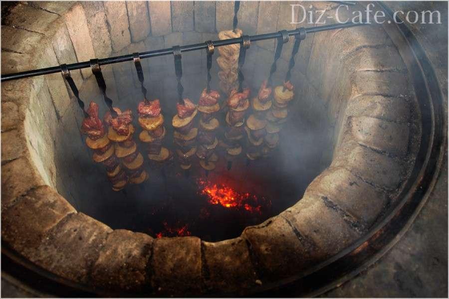 Фото как Печь мангал коптильня своими руками