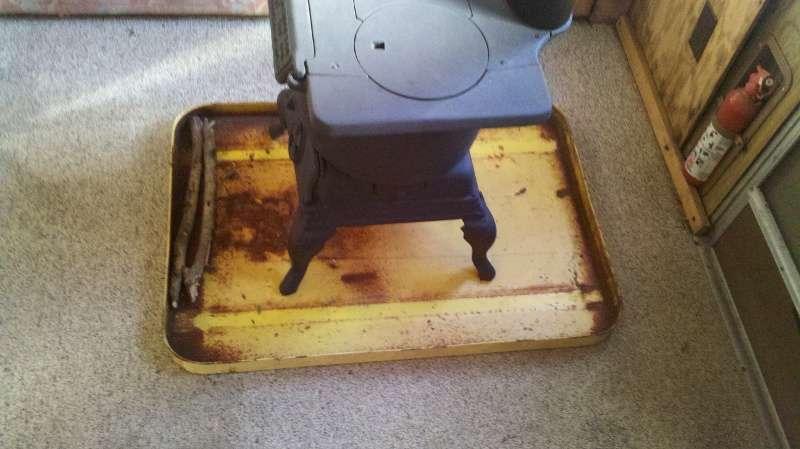 Металлическая дровяная печь своими руками